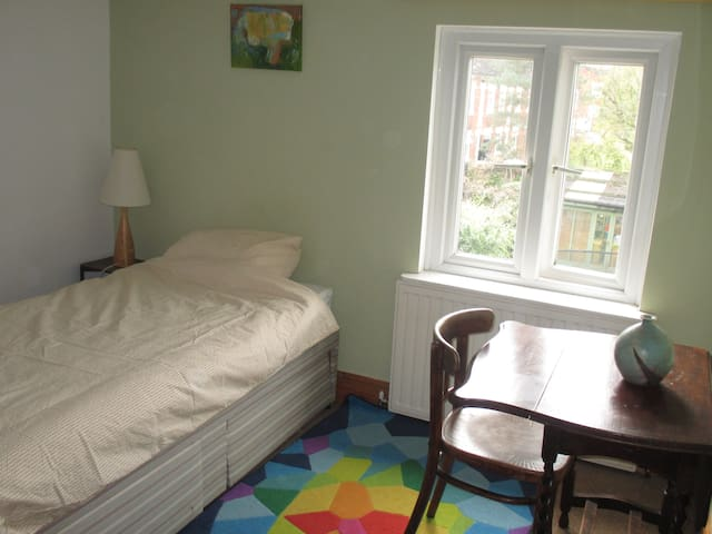 Single room in lovely family home