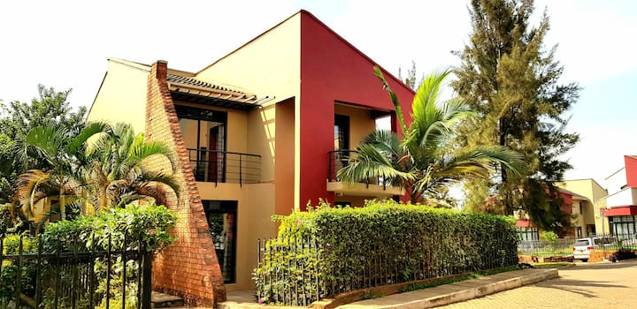 Kampala gated community home with live-in maid