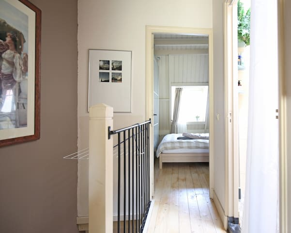 View into the bedroom.