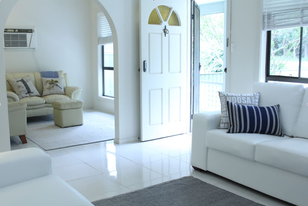 Spacious, light and airy living areas
