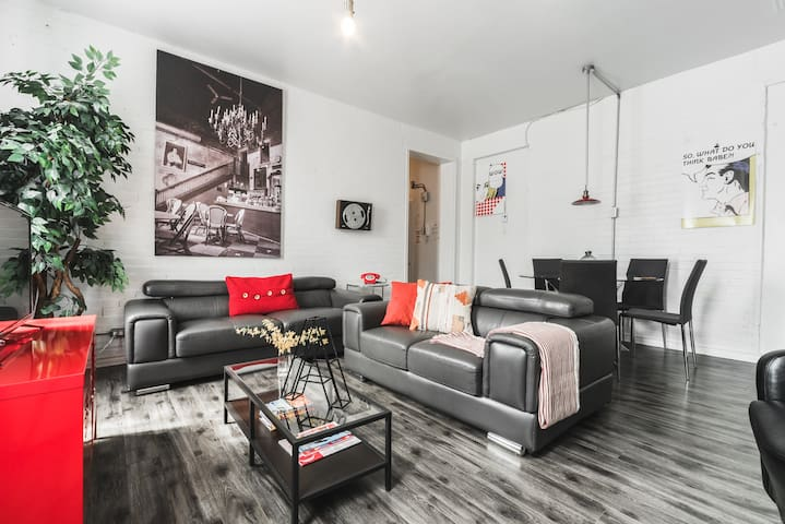 Le Coin Montreal - Appartement 2B
