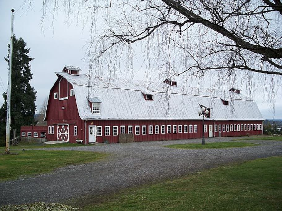 Converted dairy barn is now an Event Hall for up to 150 people