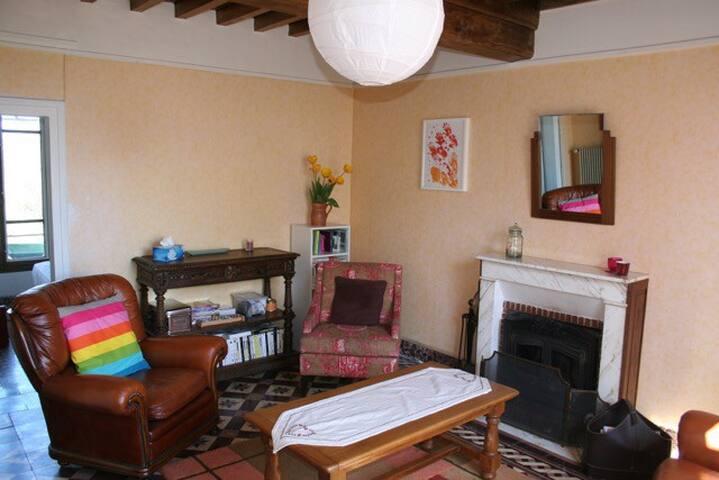 Maison de campagne, coeur du Morvan - Saint-Léger-Vauban - Dům