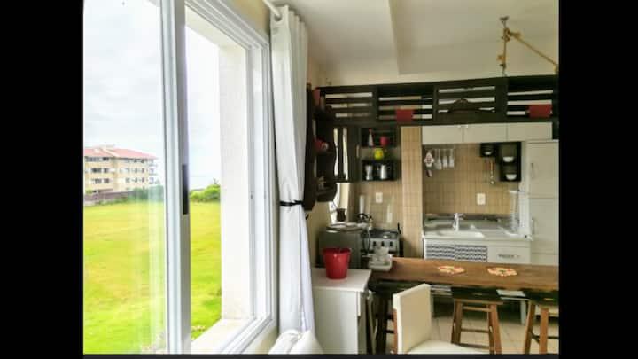 Apartamento modelo Kitnet VISTA MAR Praia Brava!!