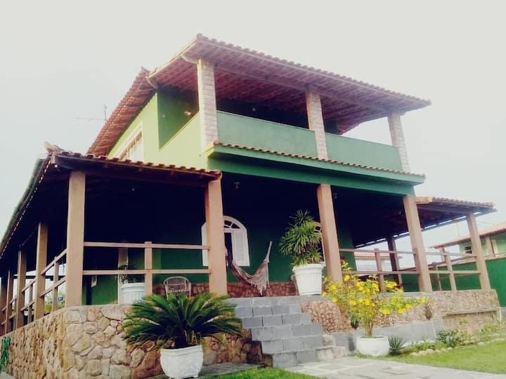 Casa duplex com piscina e churrasqueira em Vilatur