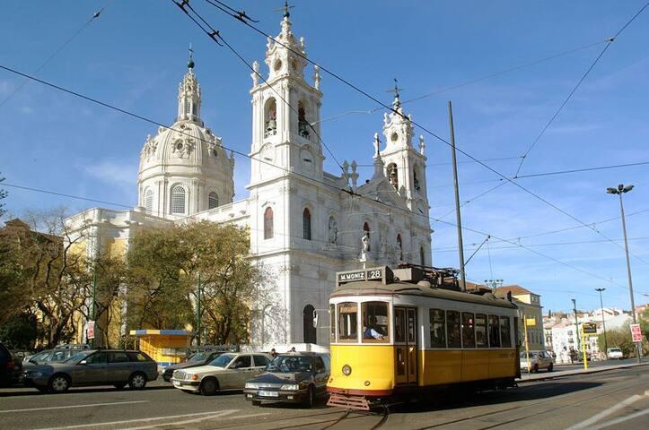 Tram 28 Estrela Apartment