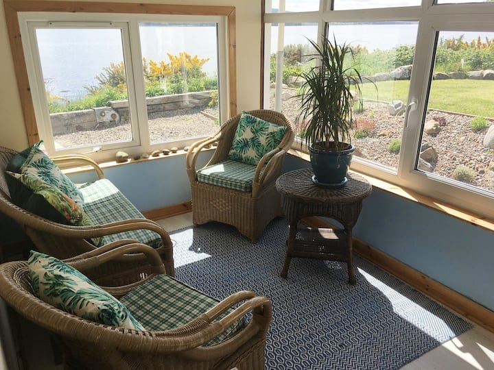 Private Sea view home only 5 miles from Inverness