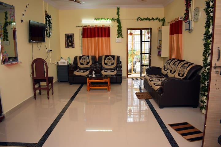 Venkateswara stay home