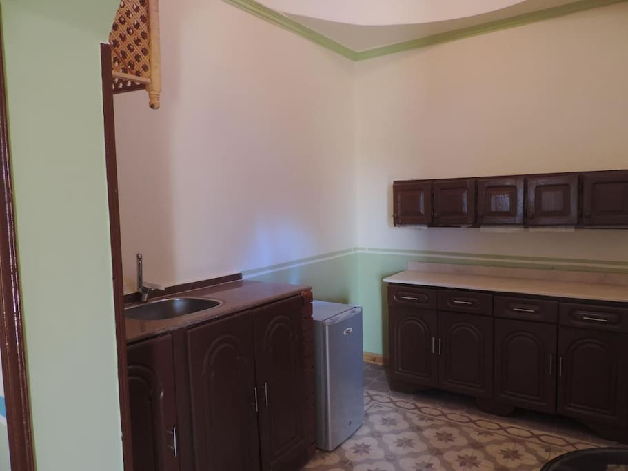Each apartment accommodates 6 guests, 3 bedrooms, bathroom, lounge and kitchen