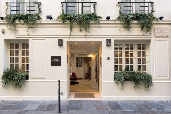 A Glamorous room in the Heart of the Marais