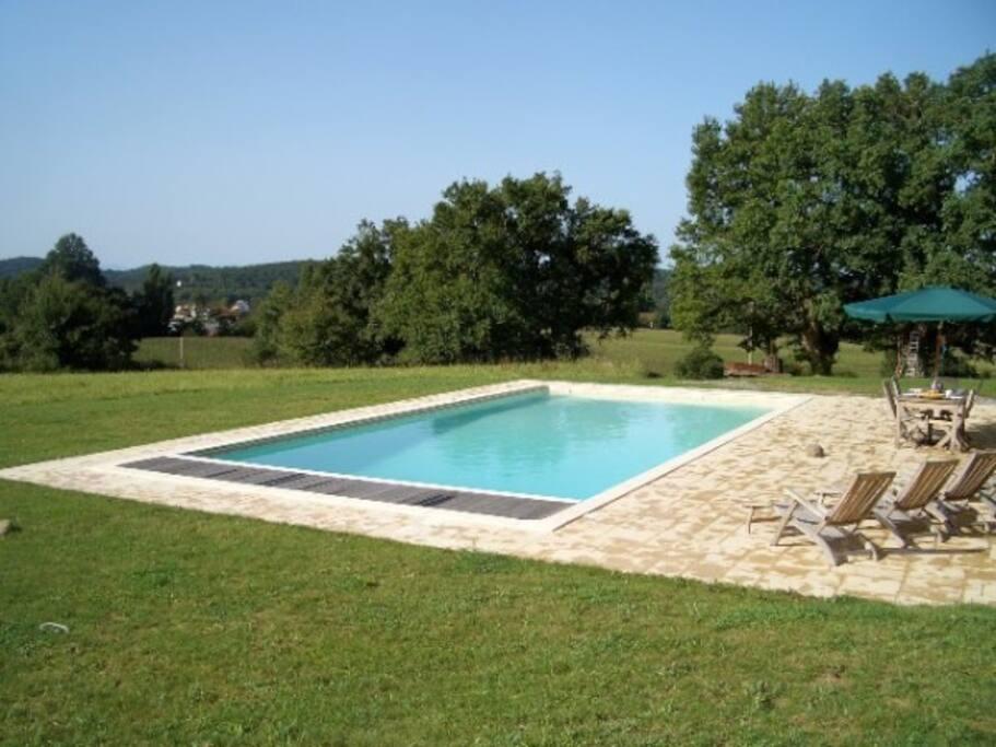 Pool 12x6m saltwater pool