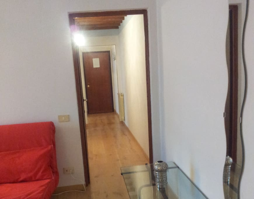 Camera 1 e corridoio