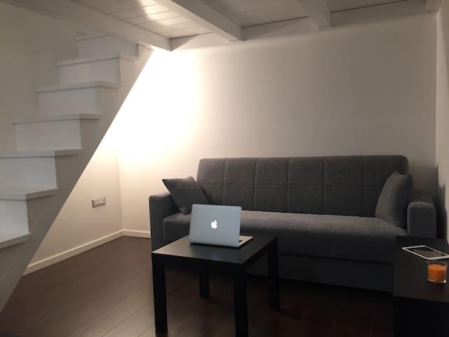Loft 20 mq di puro comfort.