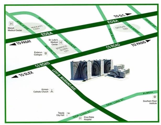 Location pin of Grace Residences