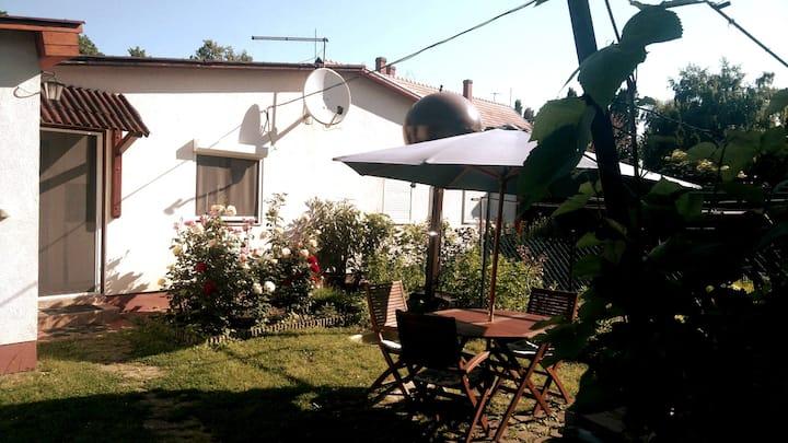 Little house 50 m from Lake Balaton