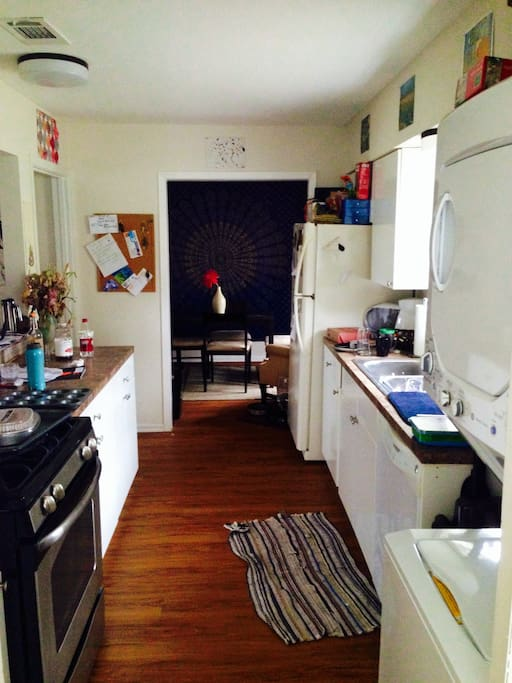 Gourmet kitchen with all new appliances.