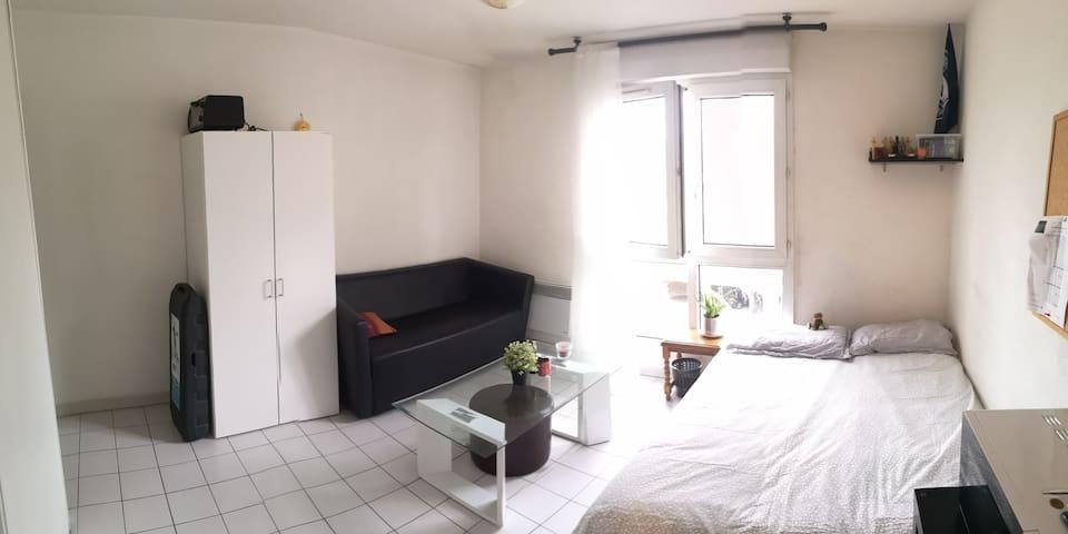 Appartement équipé Rives du lez proche tram