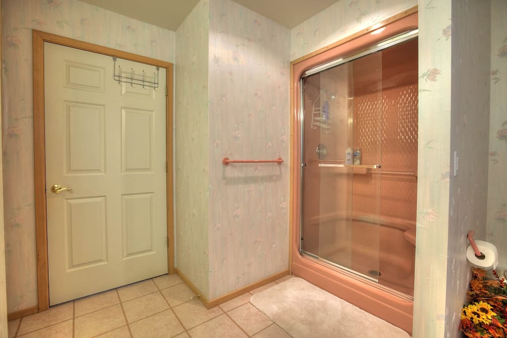Your own Private Bath - Large and updated bathroom with sit-in shower