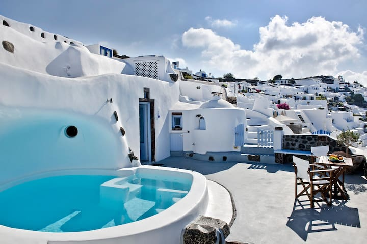 WATER APARTMENT-VOLCANO VIEW - Oia - Apartment