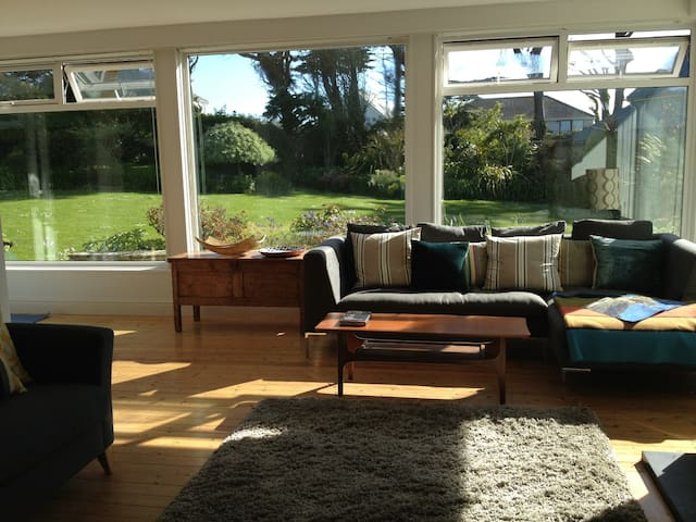 The main living areas are open, spacious and stylishly furnished