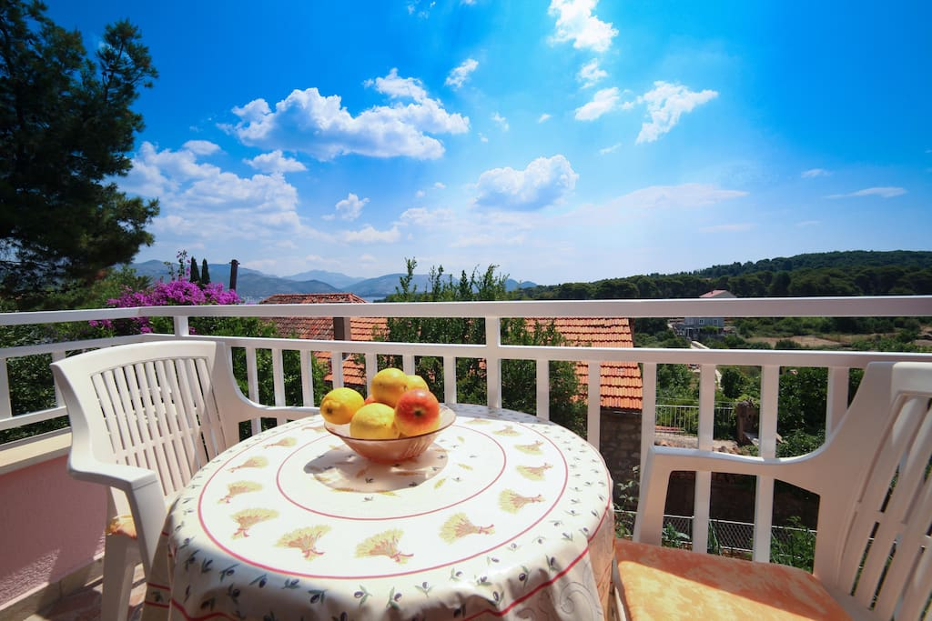 Balcony - Studio Apartment Oliva
