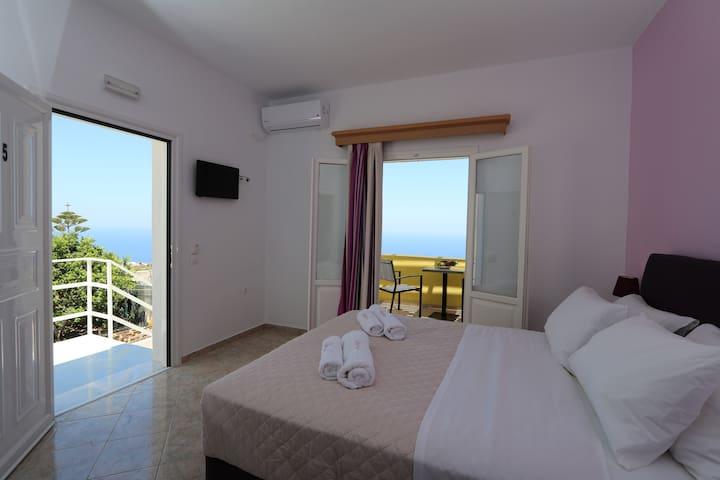 Superior Room, Private Veranda, Aegean Sea view