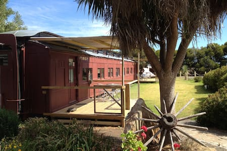 Overland Train Carriage 1