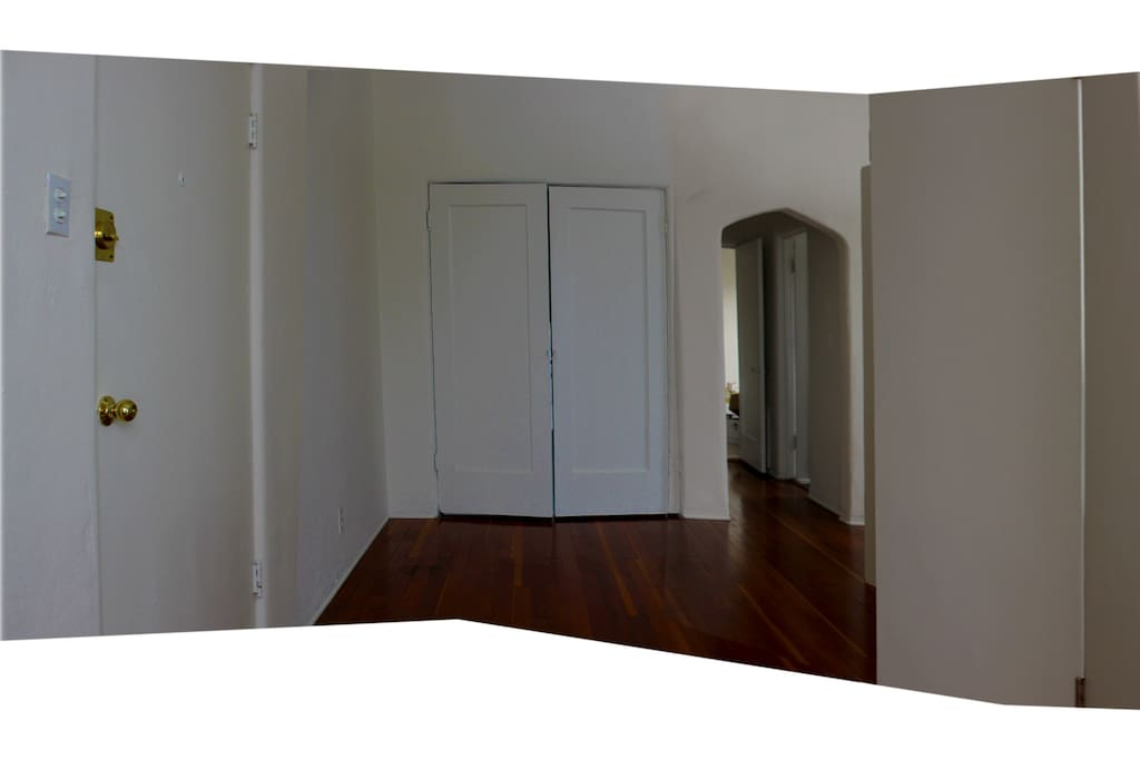 entry to apartment facing divider - see floorplan