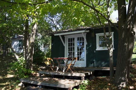 Two Side-By-Side Vintage Cabins - Elkhorn
