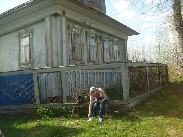 Дом с садом в марийской деревне -  Республика Марий Эл,  Горномарийский район, - Casa