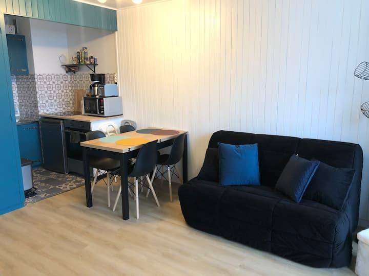 Studio rénové, superbe vue à Morzine !