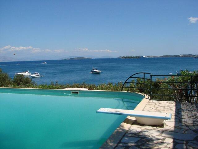 Villa Marlina I, Waterfront, Pool and Beach - Corfu - Villa