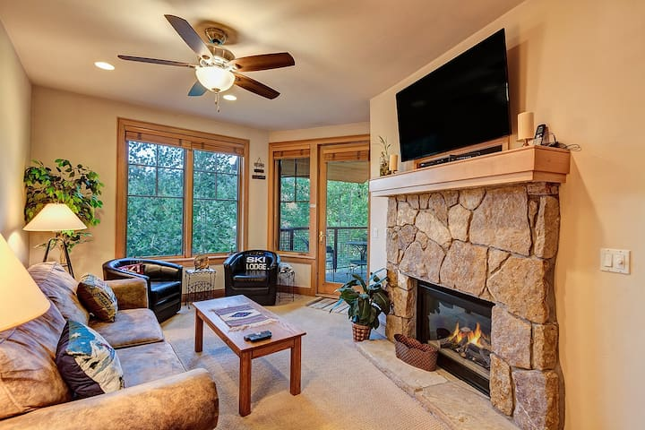 Downtown Breckenridge, Access to Outdoor Hot Tubs, Garage Parking! - Park Avenue Lofts 207