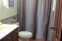 El baño privado.