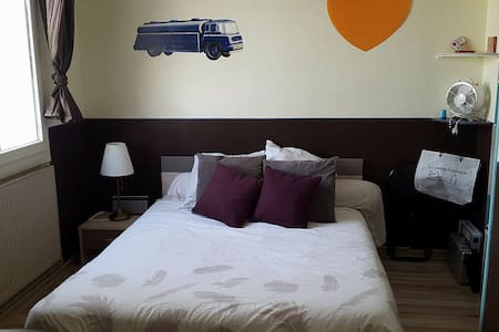 Chambre dans maison proche Lyon - Décines-Charpieu