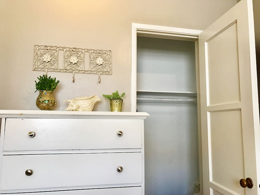 Closet and drawers