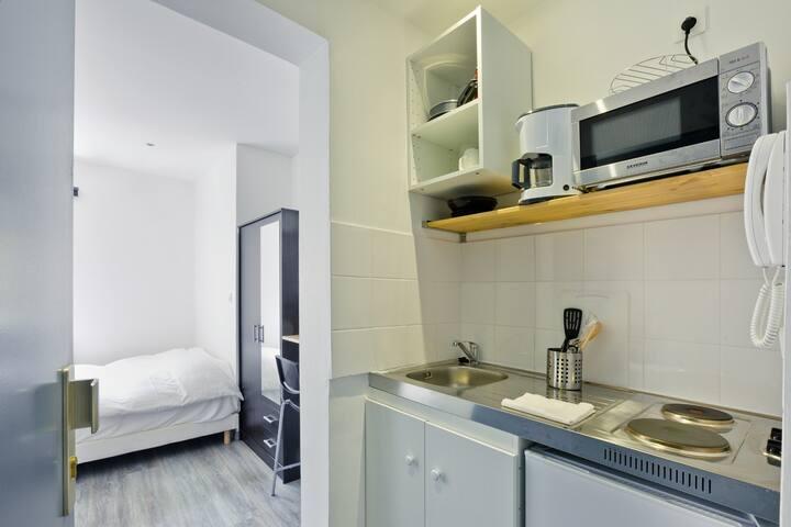 Chouette Studio neuf prix. lieux touristiques*** - Straatsburg - Appartement