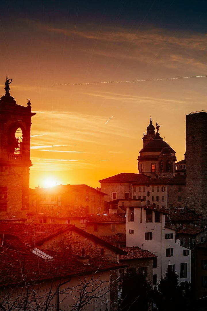 Città Alta sunset tour