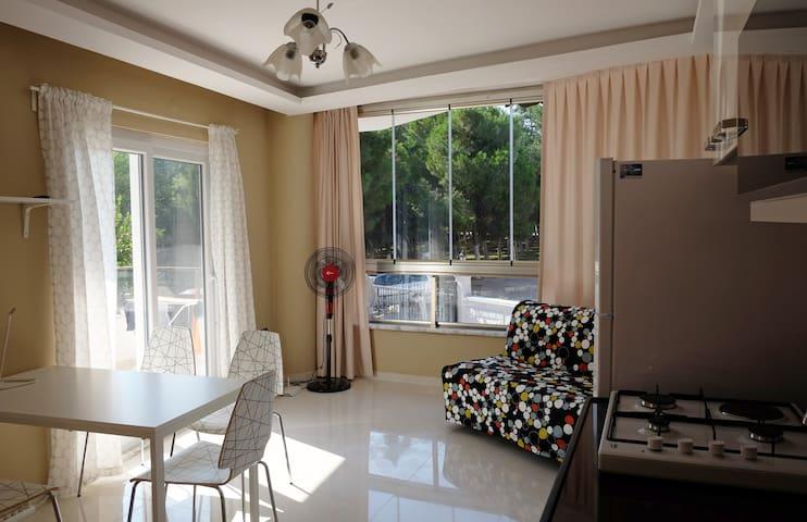 Pine park apartment with terrace - Didim