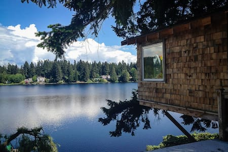Cottage Lake Tree House Bed and Breakfast - Woodinville - Pousada