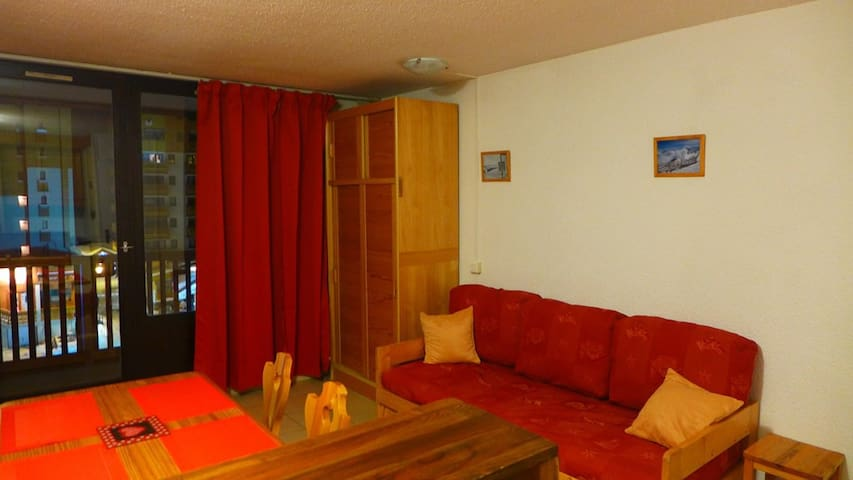 Roche Blanche Val Thorens 4 personnes 24 m2