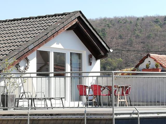 Schickes Feriendomizil mit Dachterrasse