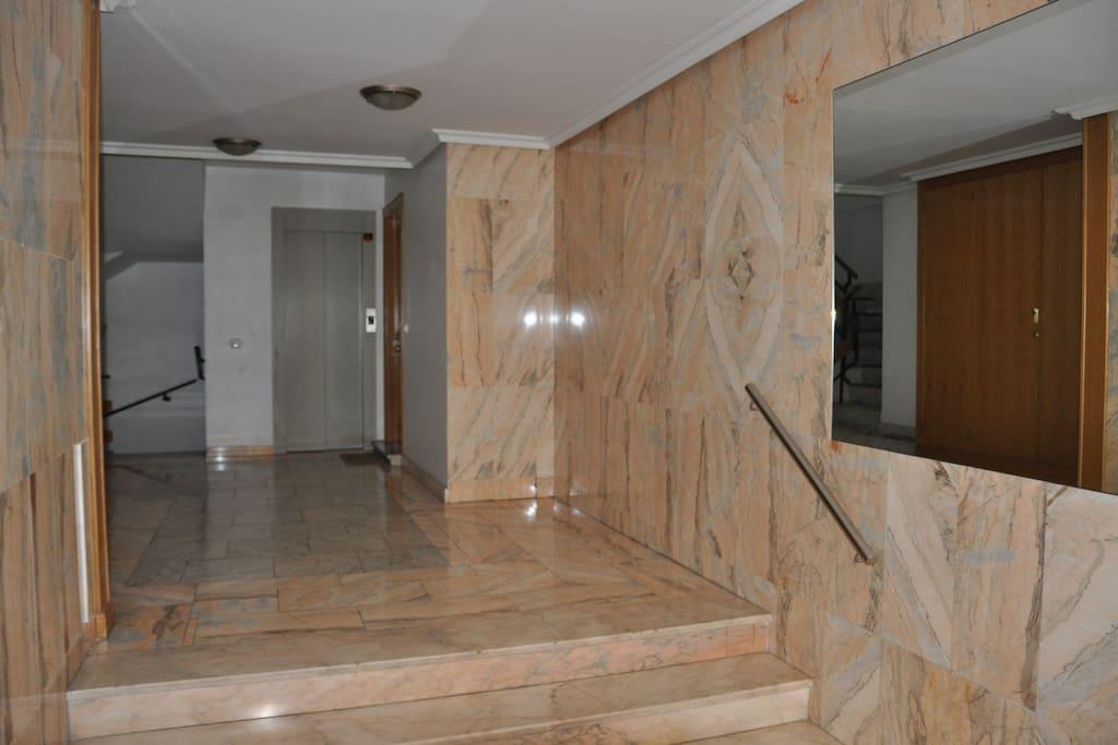 Portal de acceso al apartamento
