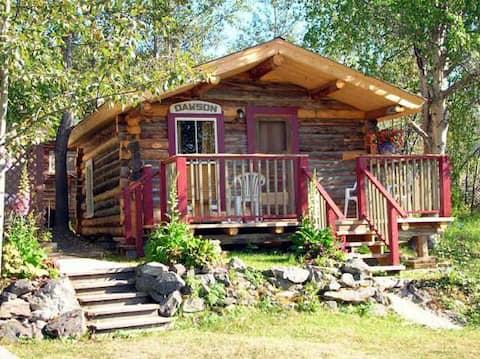 Gold Rush Era Log Cabin Suite