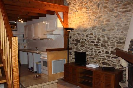Charmant studio dans grange rénovée - Landeronde - Apartamento