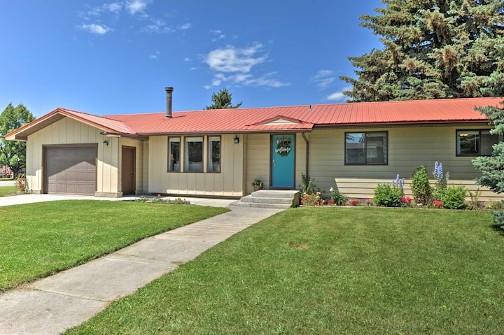 NEW! Quiet Sugar City Home < 80 Mi to Yellowstone!