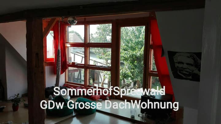 Sommerhof Haus: Dachetage (2+2+2+x Pers.)