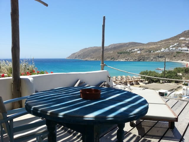 SEA VIEW PARADISE BY THE BEACH-2PAX - Mykonos - Bed & Breakfast