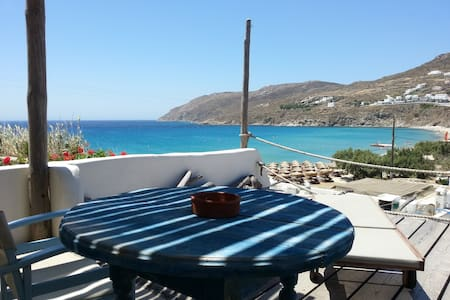 SEA VIEW PARADISE BY THE BEACH-2PAX - Mykonos