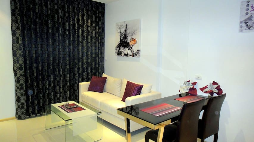 Modern 1-bed in The Gallery Condo - Pattaya - Appartement